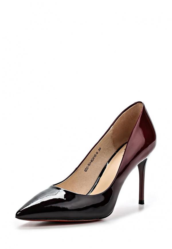 Туфли Sinta 632-50-M241S-M бордовые