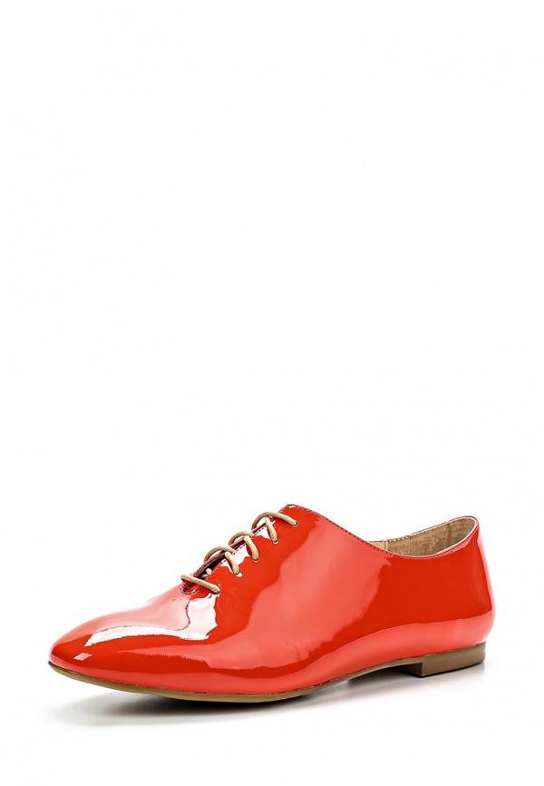 Ботинки Sinta 545-1-2-M красные