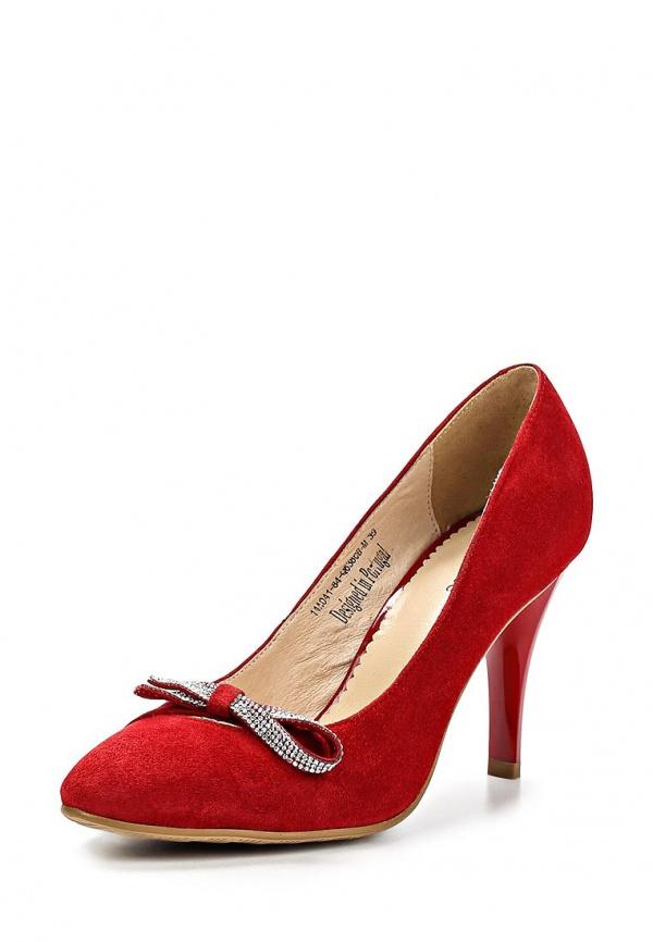 Туфли Clotilde 14A041-84-Q638CB-M красные