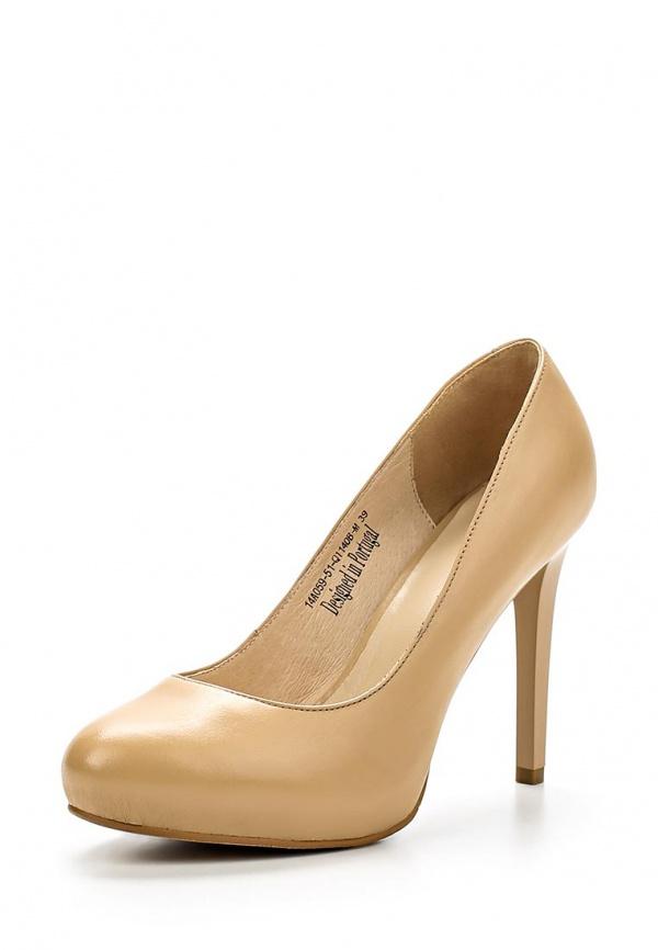 Туфли Clotilde 14A059-51-Q1140B-M бежевые