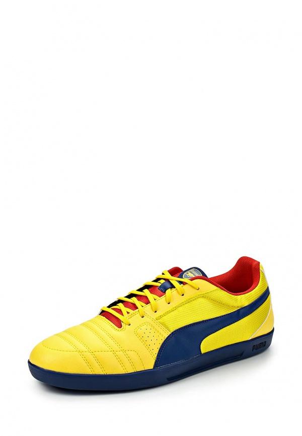 Бутсы зальные Puma 10320302 жёлтые