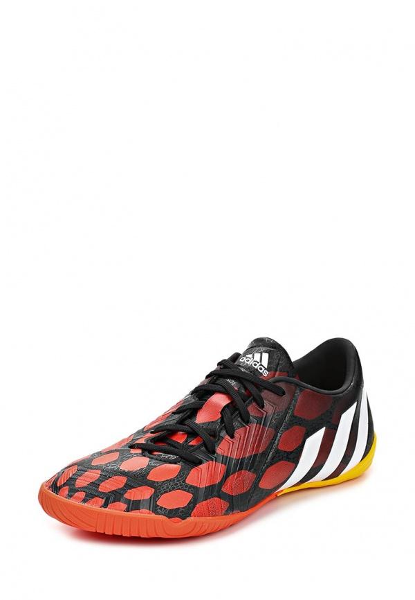 Бутсы зальные adidas Performance M20133 оранжевые, чёрные