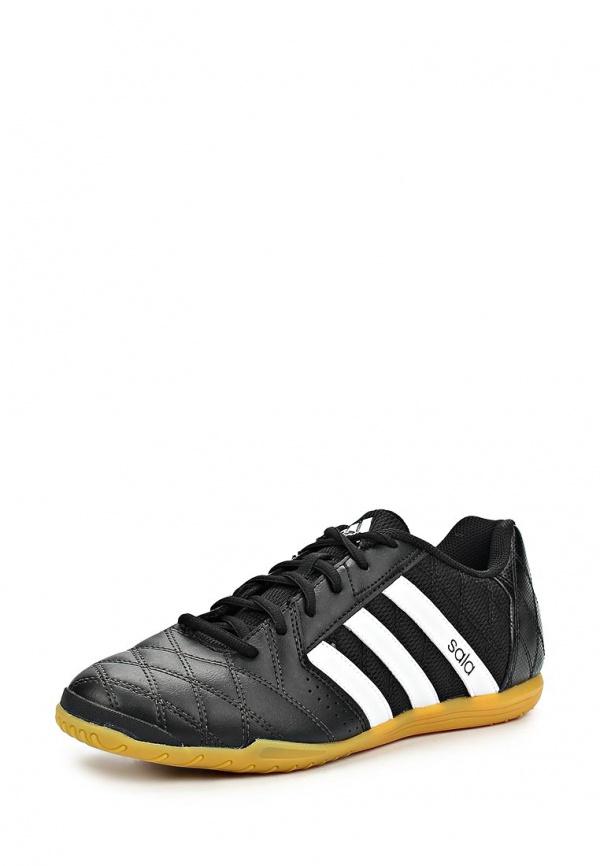 Бутсы зальные adidas Performance M19972 чёрные