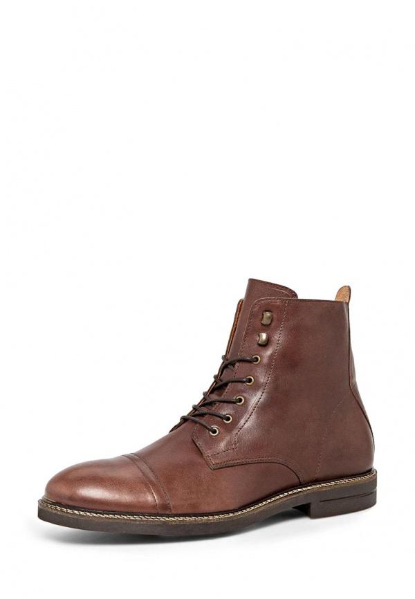 Ботинки Mango Man 34055570 коричневые