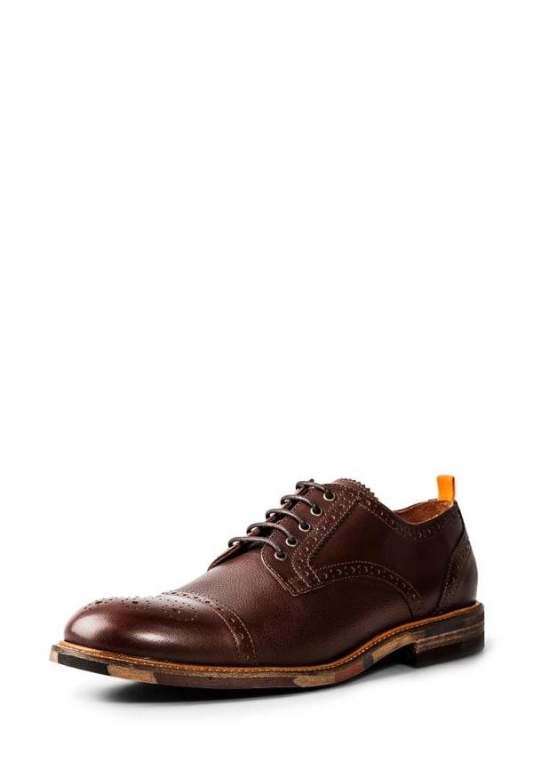 Туфли Mango Man 34080345 коричневые