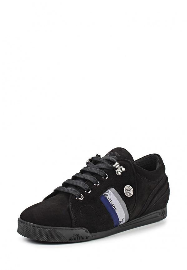 Кроссовки John Galliano 4705 чёрные