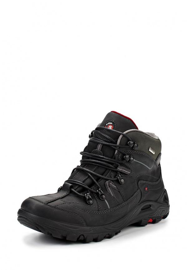 Ботинки трекинговые S-tep 13-14-1 чёрные