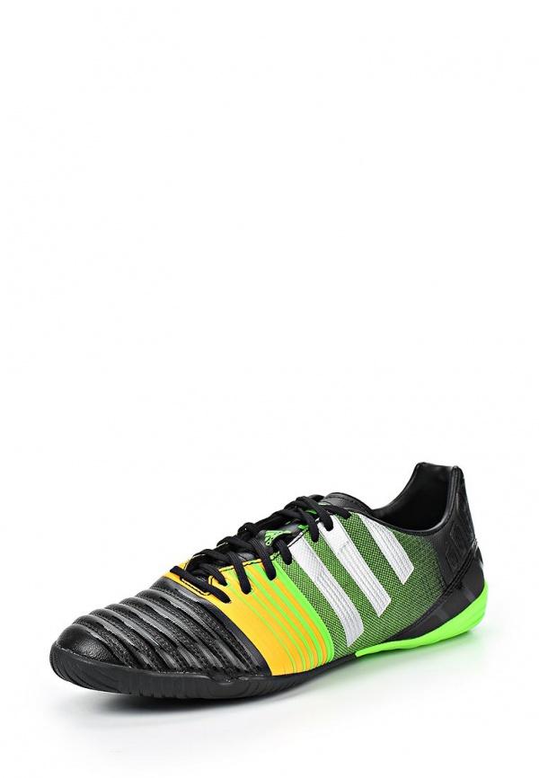 Бутсы зальные adidas Performance M21804 зеленые