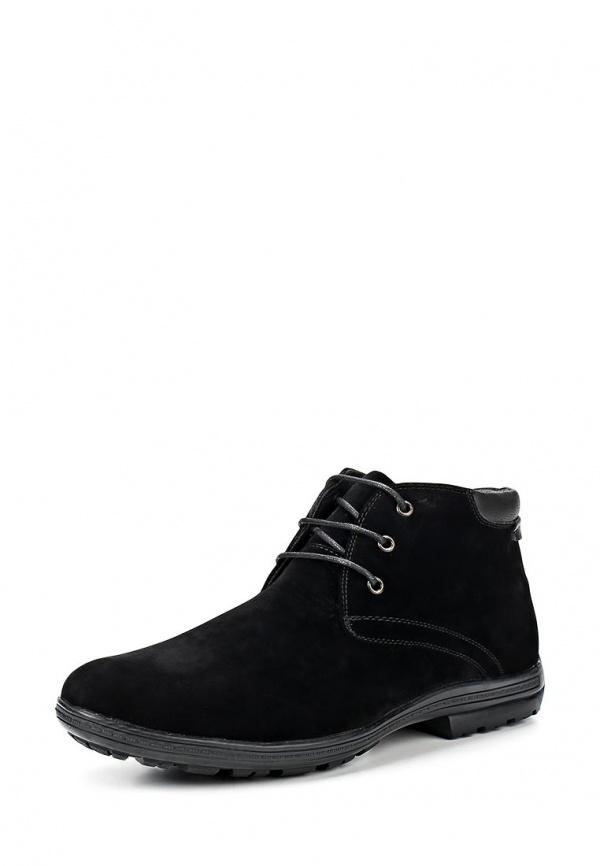 Ботинки Stesso 604-00CSW-3A чёрные