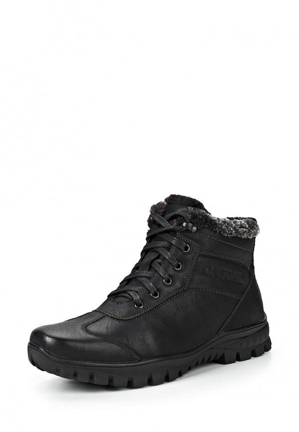 Ботинки Stesso 604-00BH5-3A чёрные