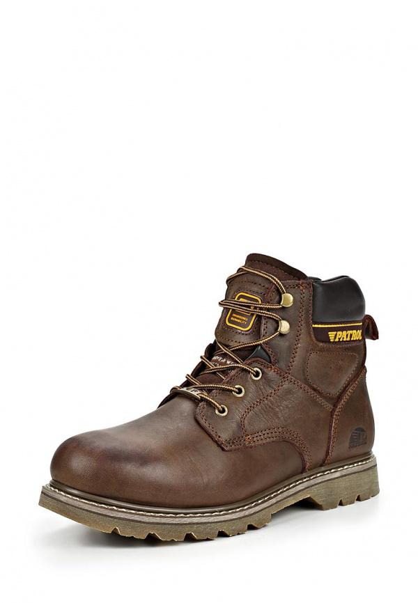 Ботинки Patrol 456-689M-15w-1-7 хаки