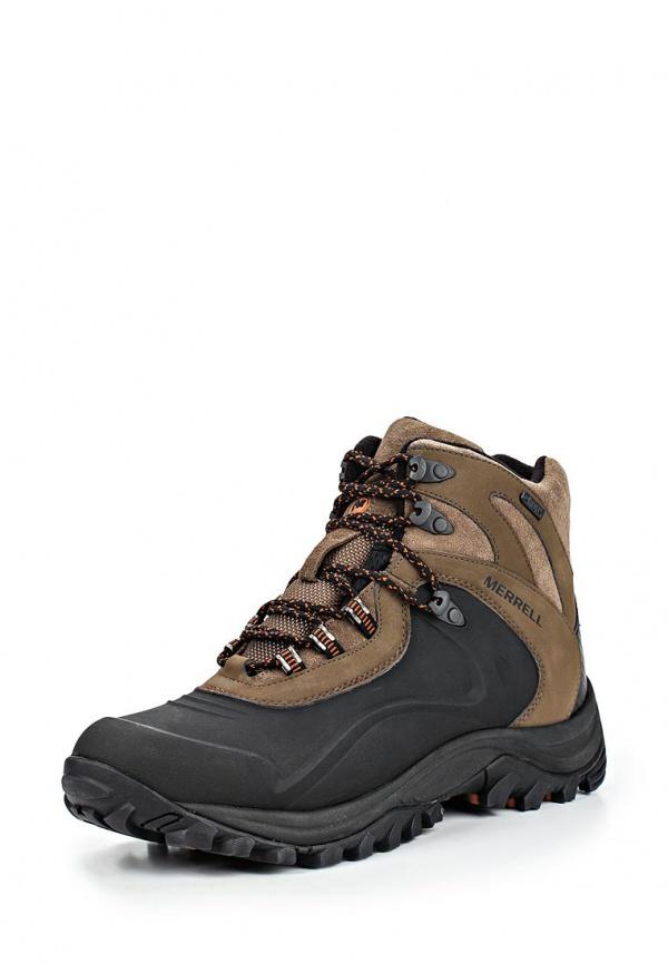 Ботинки трекинговые Merrell 21149 коричневые, чёрные