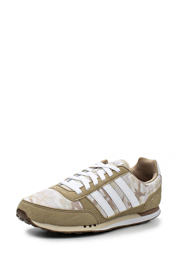 Кроссовки adidas Neo F97878 бежевые, белые