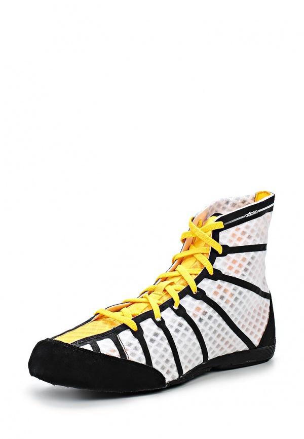Боксерки adidas Performance M29836 белые, чёрные