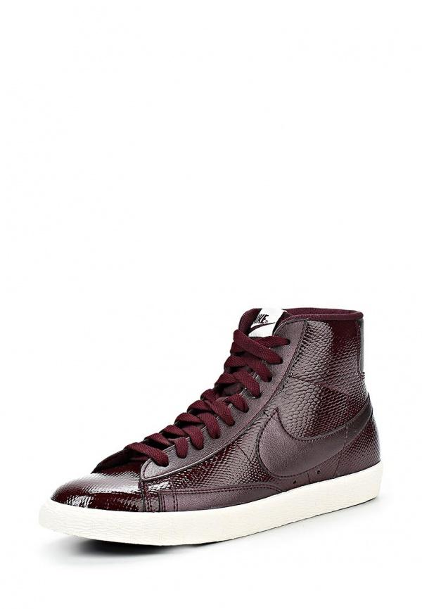 Кеды Nike 685225-600 бордовые