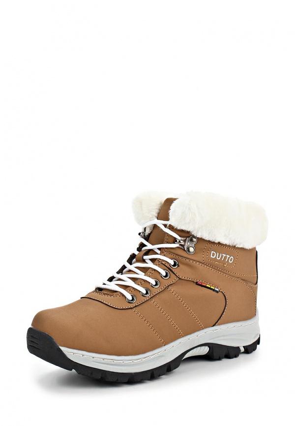 Трекинговые ботинки Dutto 625-00ARD-1A коричневые
