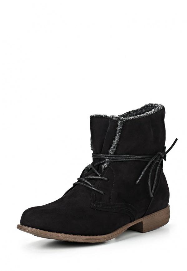 Ботинки Dutto 625-00AQT-1A чёрные