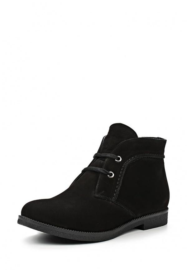 Ботинки Dino Ricci 817-56-04(M) чёрные