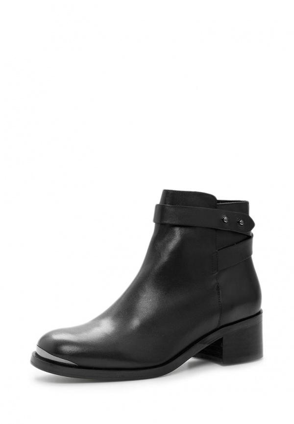 Ботинки Mango 34017565 чёрные