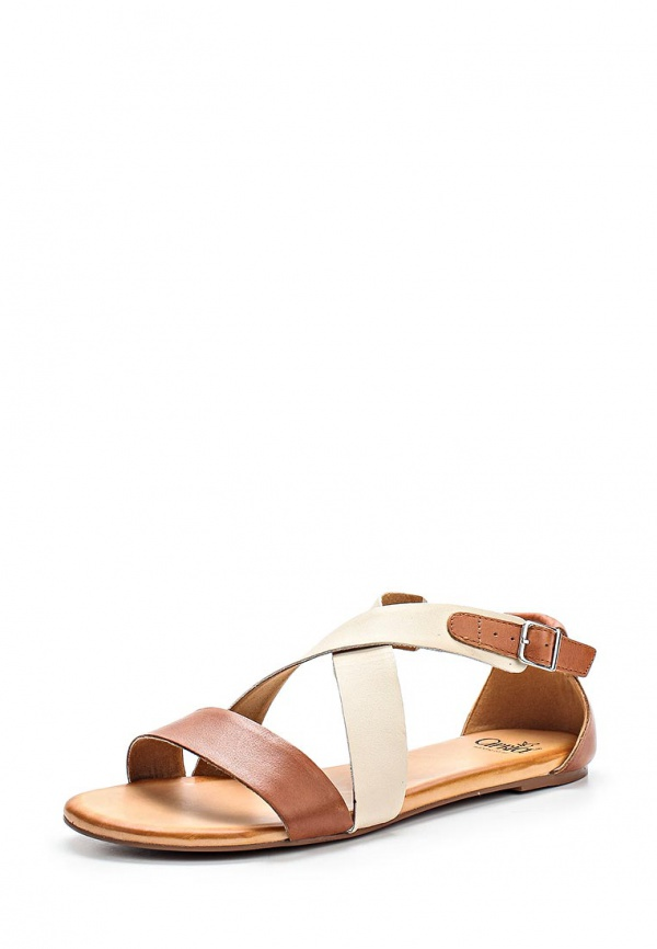 Сандалии Caprice 9-9-28104-24-312 бежевые, коричневые