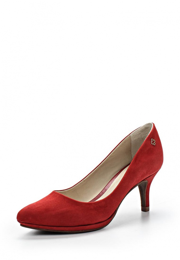 Туфли Capodarte 4006789 красные