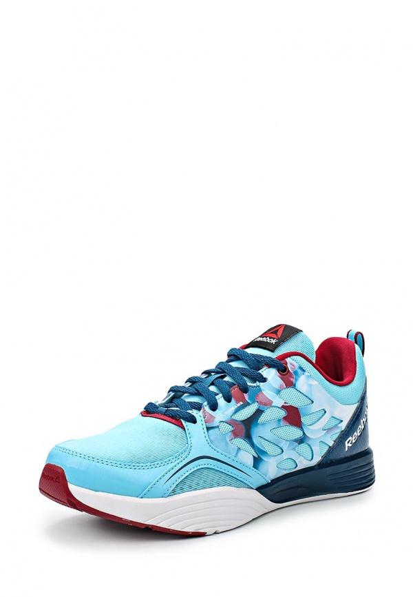 Кроссовки Reebok M48902 голубые