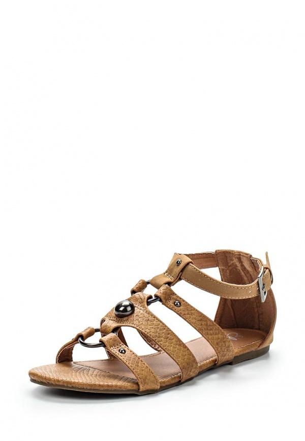 Сандалии Ella WANG коричневые
