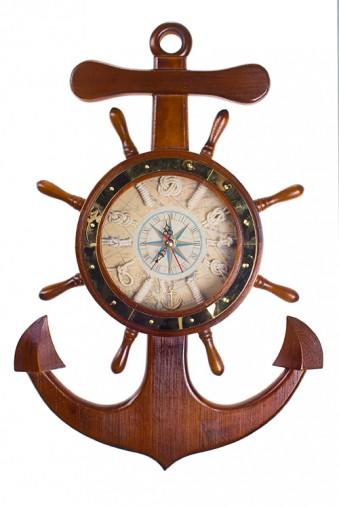 "Часы Настенные Часы настенные ""Корабельные атрибуты"""