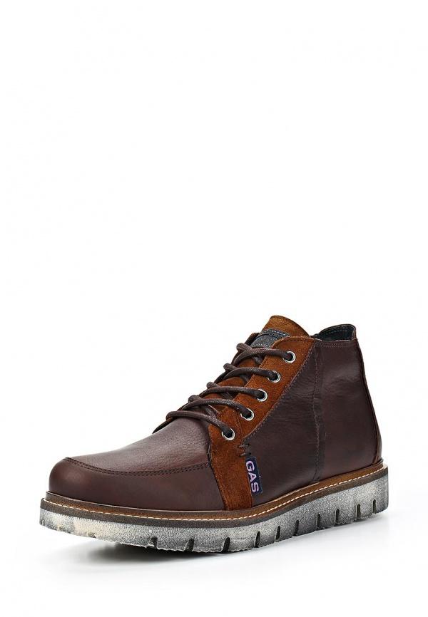 Ботинки Gas 628/200/21 коричневые
