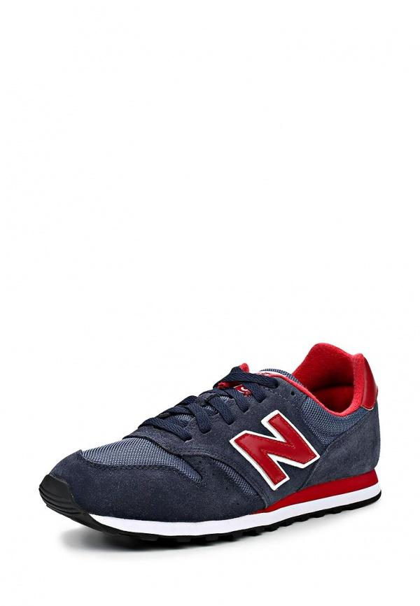 Кроссовки New Balance M373SBR/D красные, синие