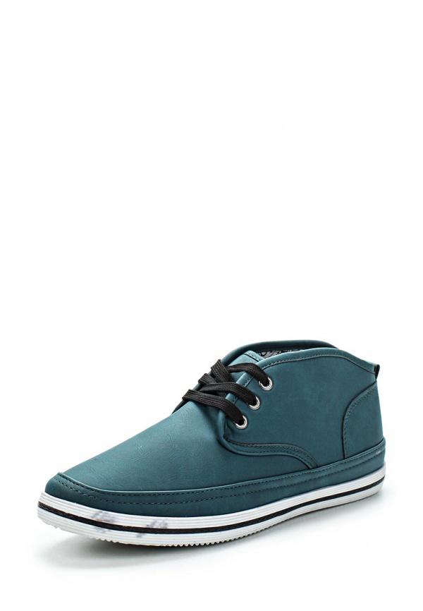 Кеды WS Shoes V-10 зеленые
