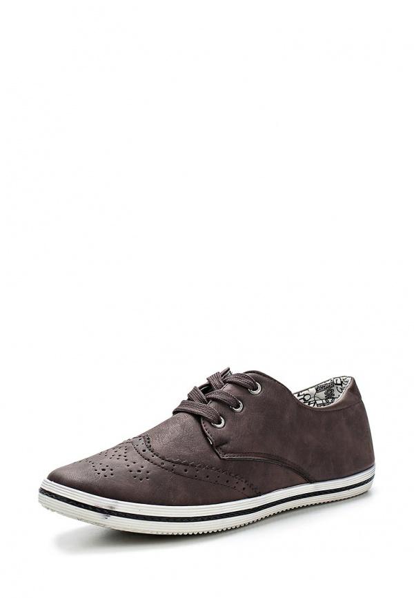 Кеды WS Shoes V-5 коричневые