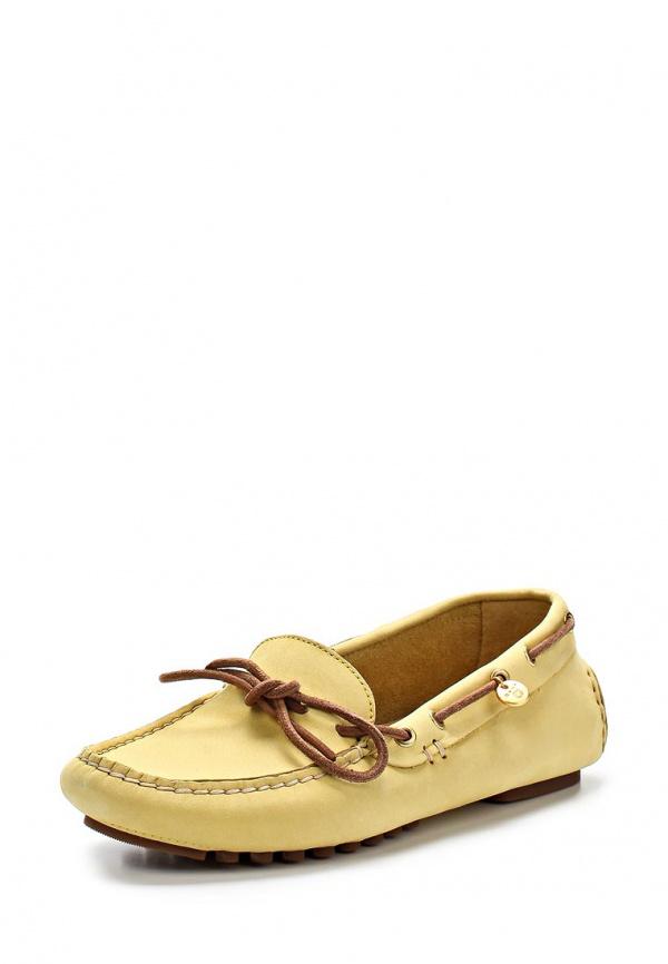 Мокасины Gant 8574015 жёлтые