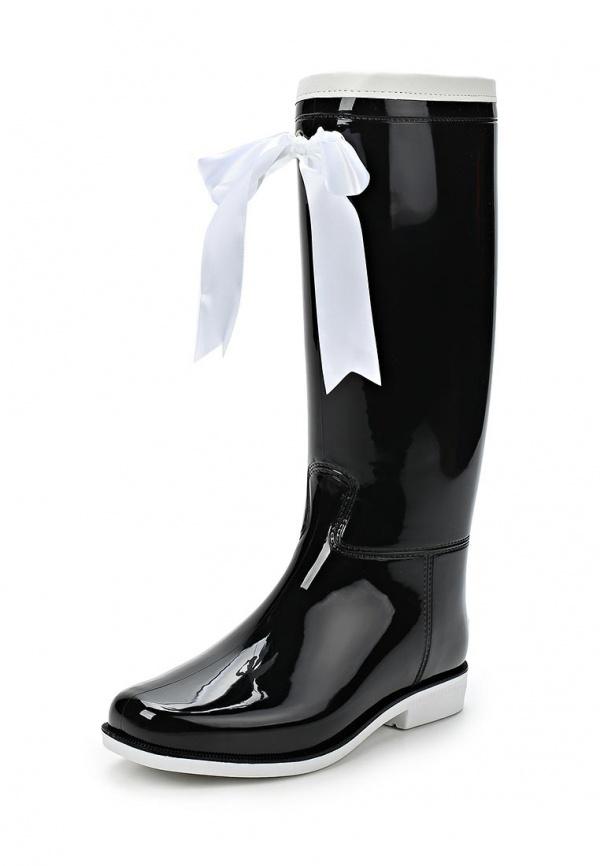 Резиновые сапоги Boomboots 39 чёрные