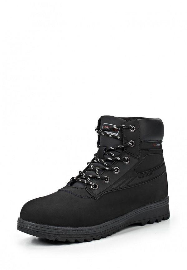 Ботинки Strobbs F8076-3 чёрные