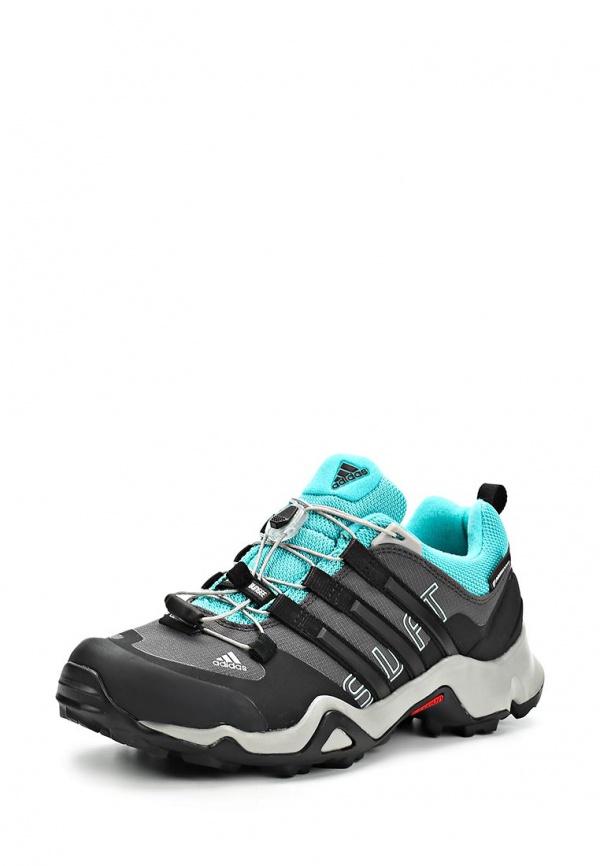Кроссовки adidas Performance M17470 голубые, серые, чёрные