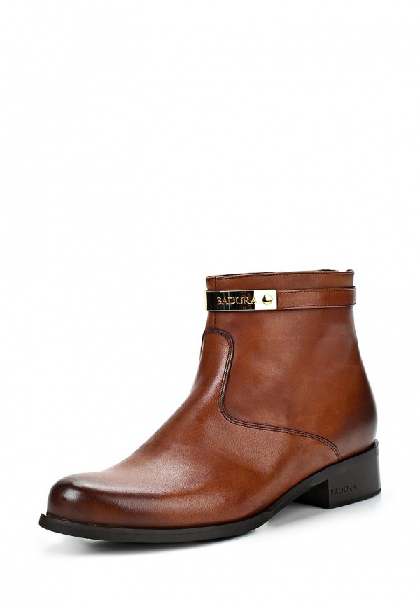 Ботинки Badura 7068-69 коричневые