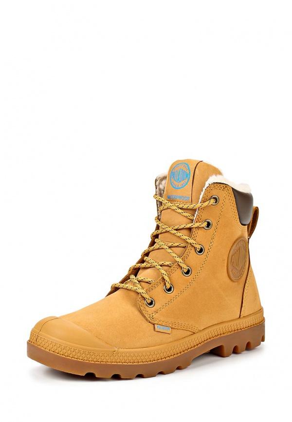 Ботинки Palladium 72992 коричневые