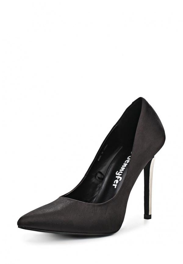 Туфли Jennyfer ACH14YSATIN чёрные