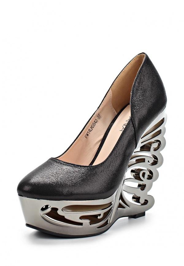 Туфли Lamania FW14LMS842 чёрные