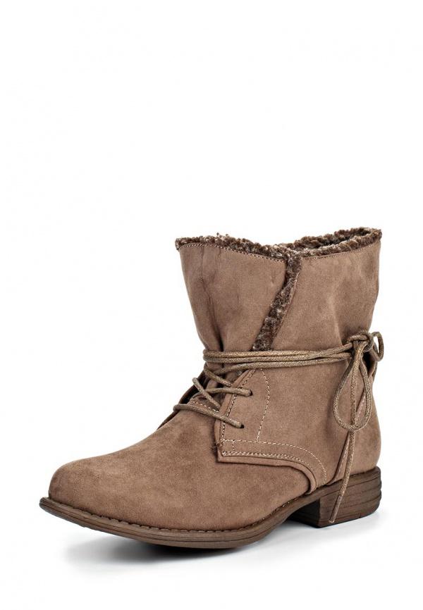 Ботинки Dutto 625-00AQU-1A коричневые