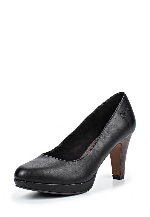 Туфли s.Oliver 5-5-22400-33 чёрные