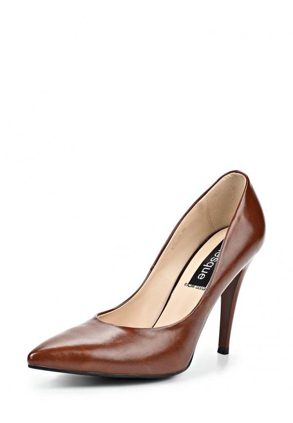 Туфли Burlesque BC-H6 коричневые