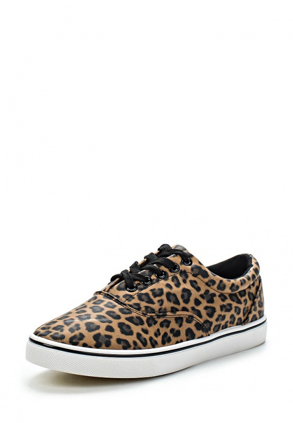 Кеды WS Shoes 181 бежевые, чёрные