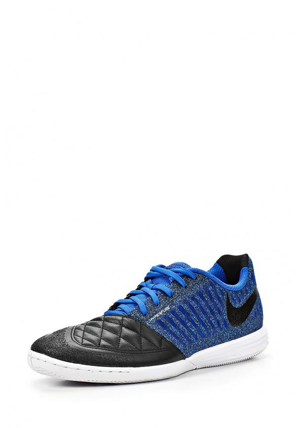 Бутсы зальные Nike 580456-042 синие, чёрные