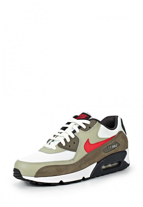 Кроссовки Nike 537384-119 белые, коричневые, мультиколор