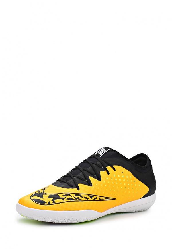 Бутсы зальные Nike 685357-800 оранжевые, чёрные