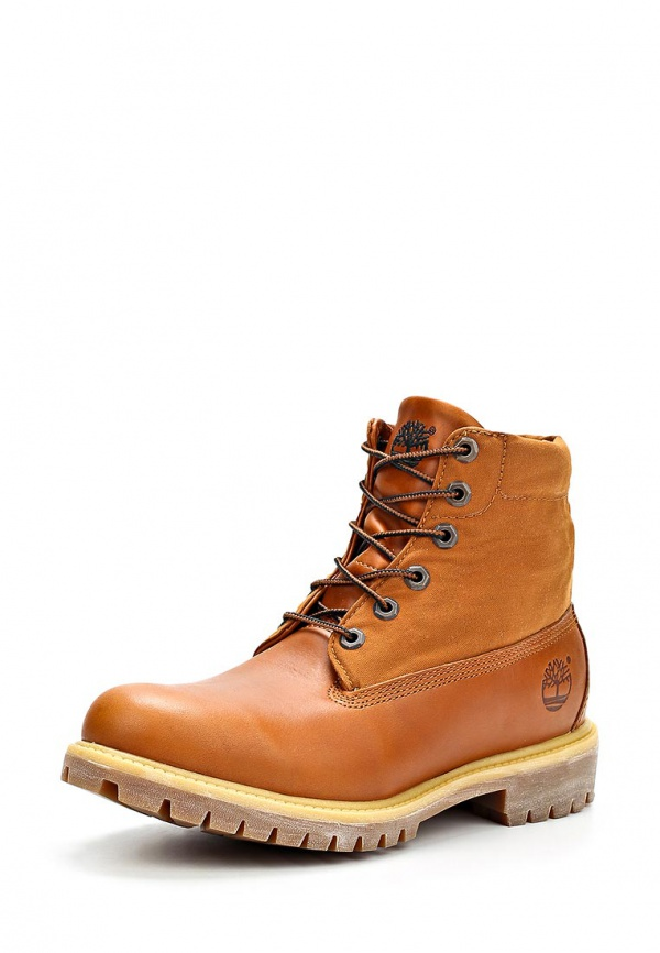 Ботинки Timberland TBL6825AM коричневые