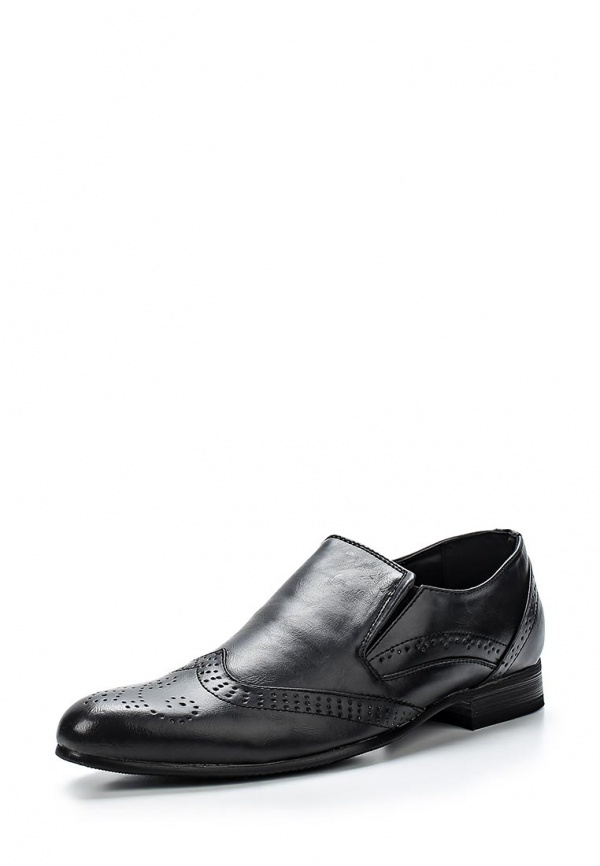 Туфли WS Shoes 8762-1 чёрные