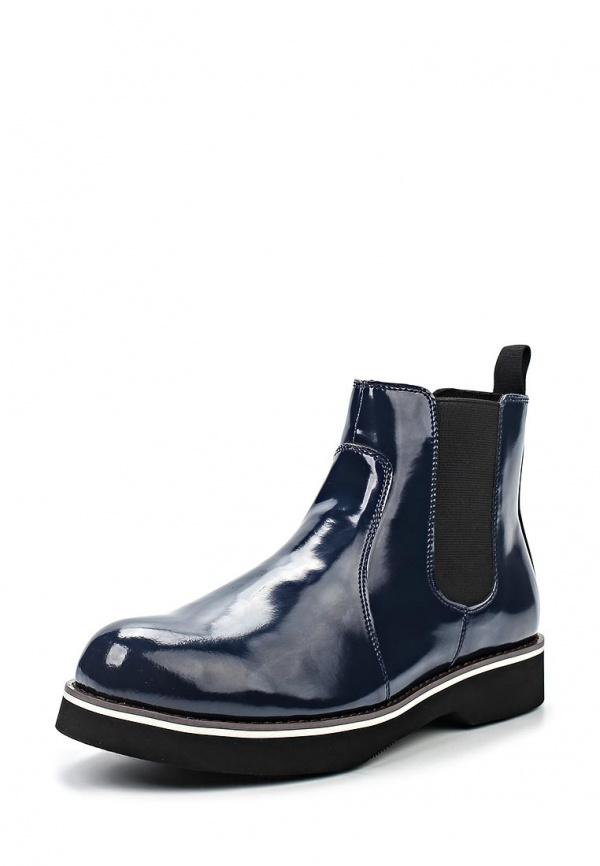 Ботинки McCrain SS15MCS002 синие